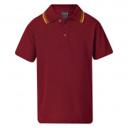 Johnston Classic Twin Stripe Polo (Short Sleeve)
